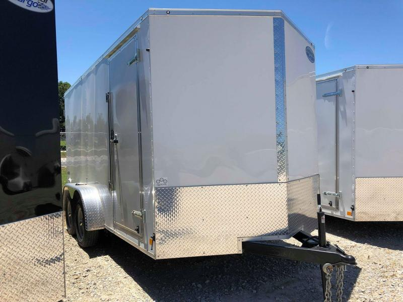 2019 Continental Cargo 14'X7' V-Series Enclosed Cargo Trailer