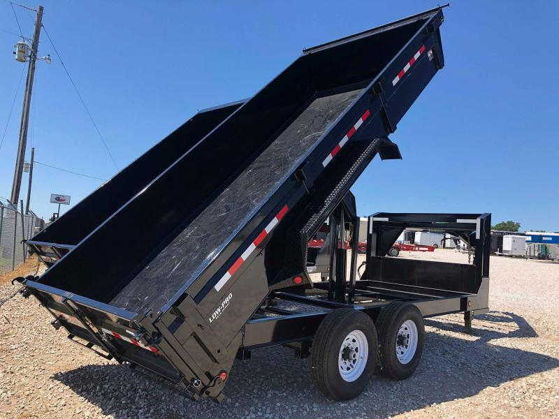 "2020 PJ Trailers 16'x83"" Gooseneck Low Pro Dump Trailer"