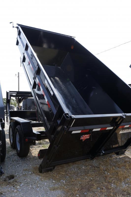2019 PJ Trailers 14' Rollster Dump TRAILER ONLY