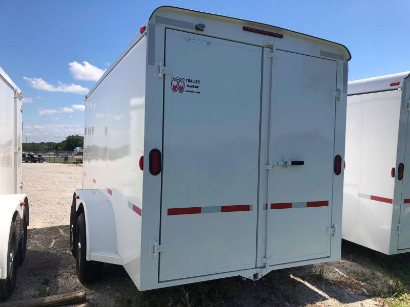 2019 W-W Trailer CC14X6.8 Enclosed Cargo Trailer