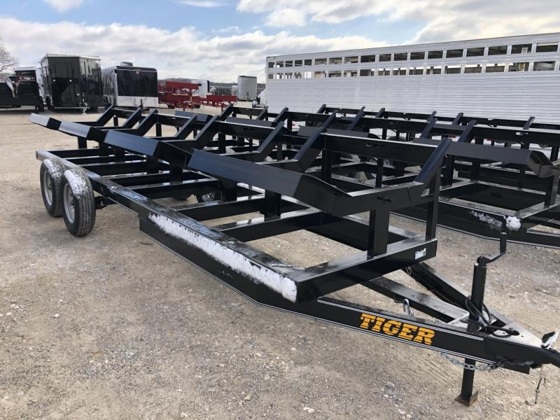 2019 Tiger 20 BP 4 Bale Hay Trailer