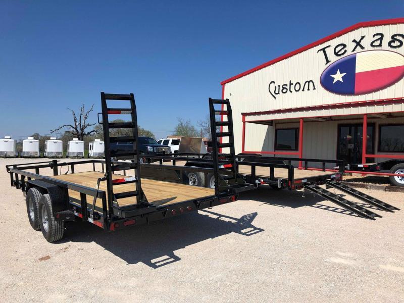 2019 East Texas 83X20 14K Utility Trailer