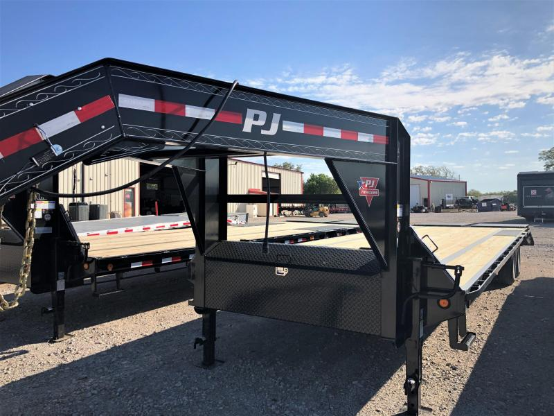 2019 PJ Trailers 30' Low Pro Flatdeck Trailer