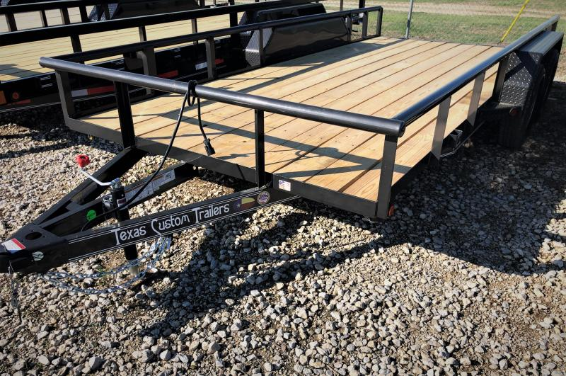2019 East Texas 83X16 Utility 7K Trailer