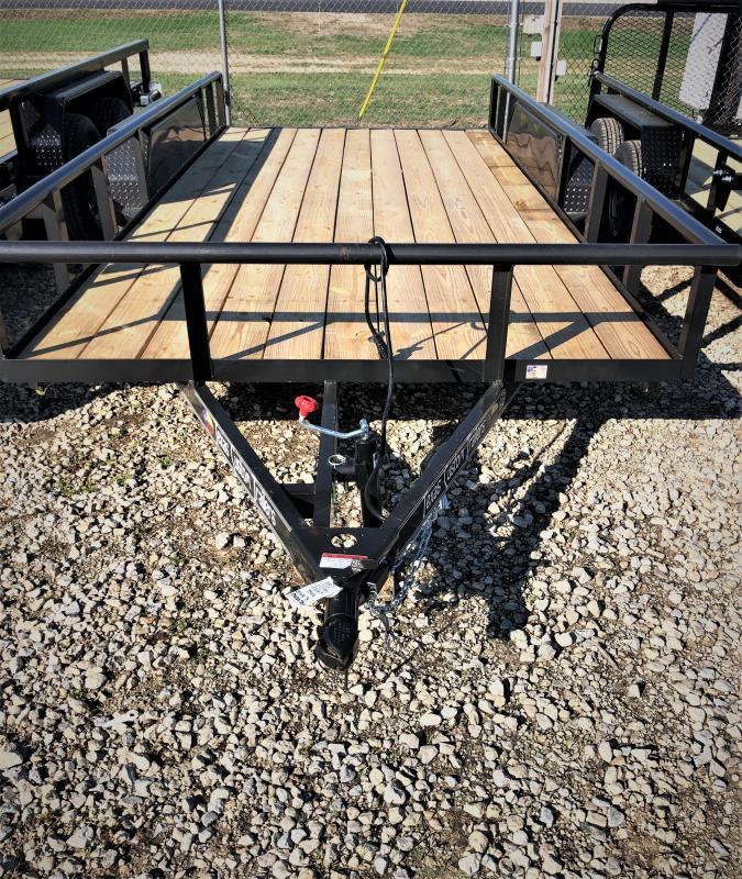 2019 East Texas 83X16 Utility 7K Trailer