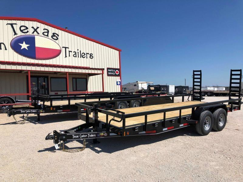 "2020 East Texas 83""X20' Utility 14K Trailer"
