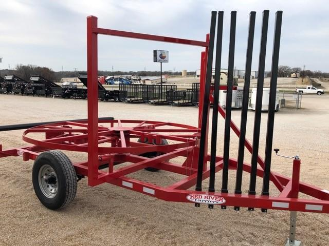 2019 Red River Carriers Layout Spool Trailer