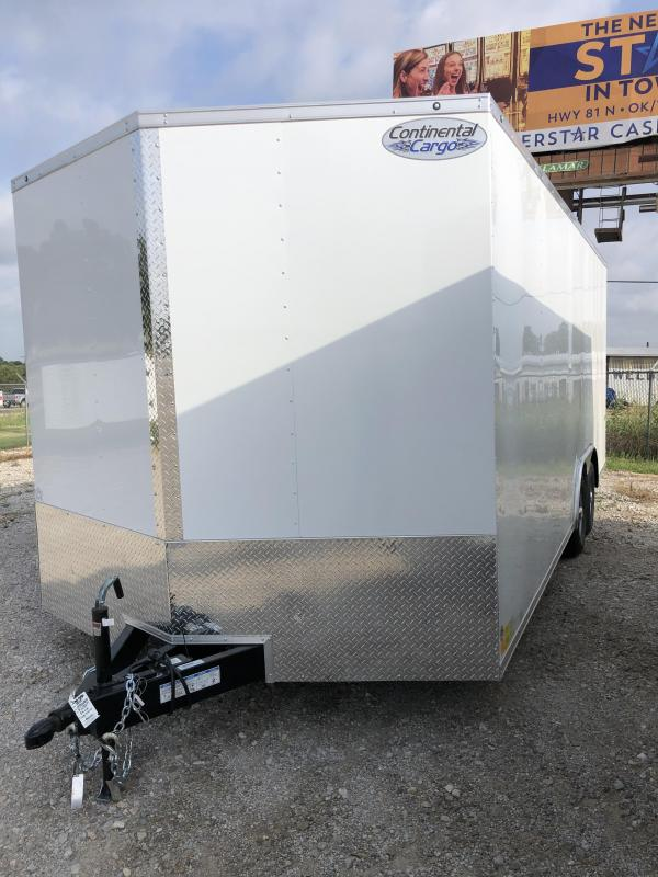 2020 Continental Cargo 8.5X20 Enclosed Cargo Trailer