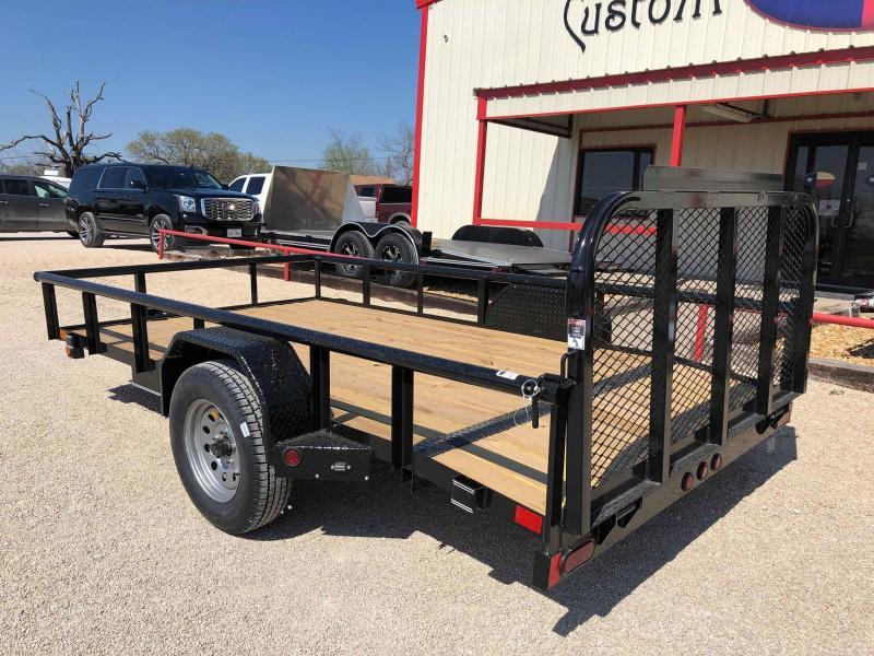 2019 East Texas 77X12 Single Axle 3K Trailer