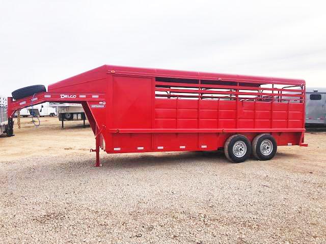 2018 Delco 20FT Livestock Trailer in Ashburn, VA