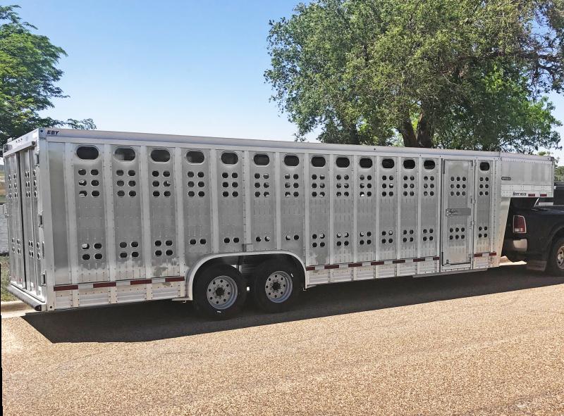 2020 EBY Ruff Neck Livestock Trailer