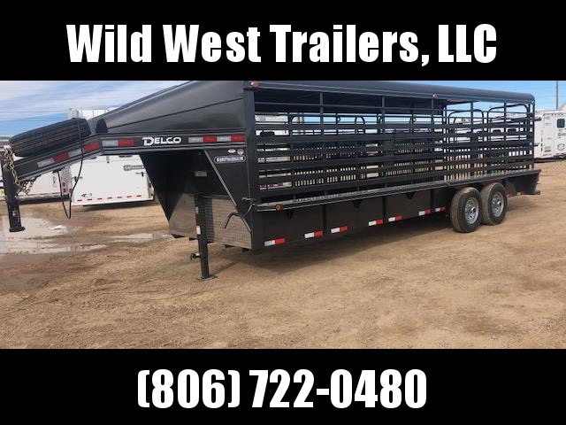 2018 Delco Trailers 24 Metal Top Livestock Trailer in Ashburn, VA