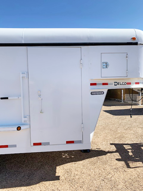 2019 Delco 24' Enclosed Cargo Trailer