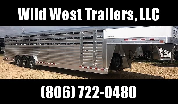 2018 4-Star Trailers 8 x 32' Livestock Trailer