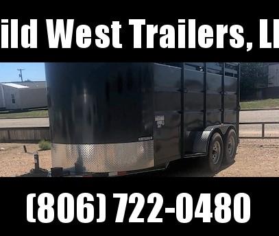 2017 Delco 3H Bumper Pull Horse Trailer