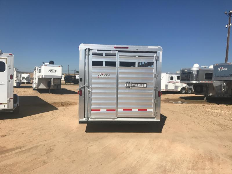 2018 Exiss Trailers STC Livestock Trailer
