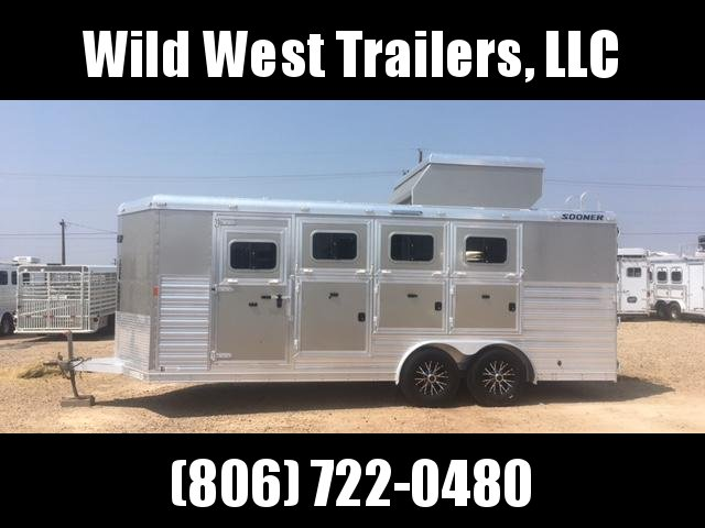 2016 Sooner Horse Trailer