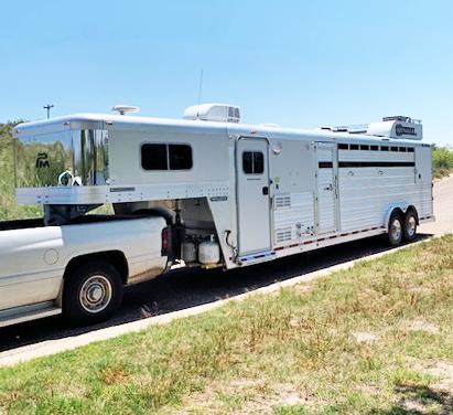 2006 Platinum Coach Stock Combo Livestock Trailer