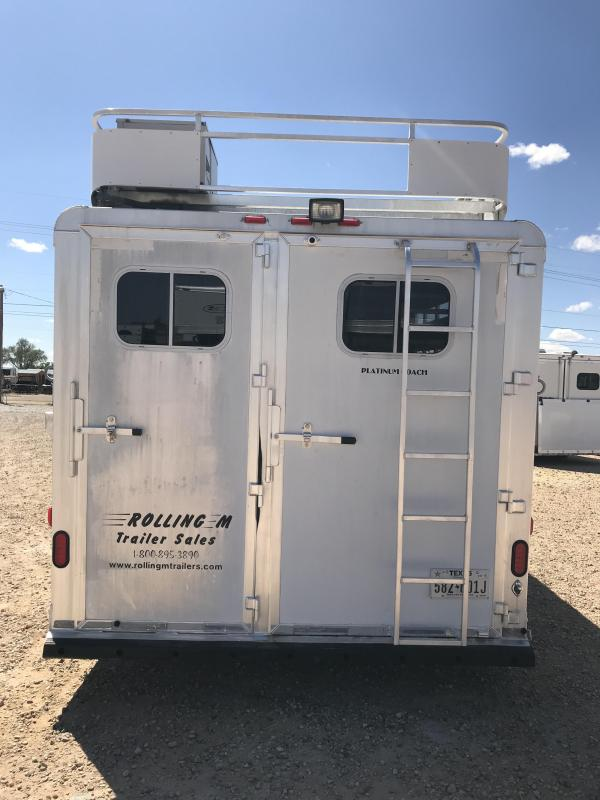 2004 Platinum Coach 3 Horse Trailer
