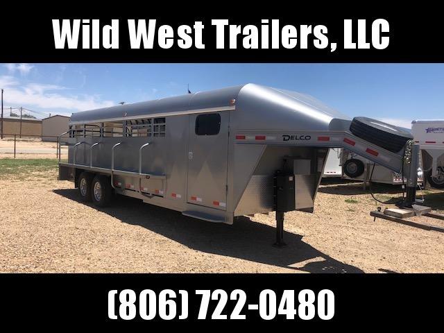 2018 Delco 24ft Premium Livestock Trailer in Ashburn, VA