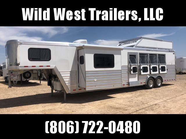 "2018 Cimarron Trailers 4 Horse - 12'9"" Horse Trailer"