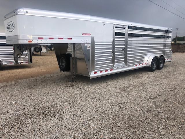 2019 4-Star Trailers 24ft Stock Combo Livestock Trailer