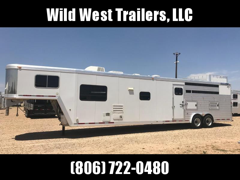 "2005 Cimarron Trailers 4 Horse - 17'6"" SW Horse Trailer in TX"