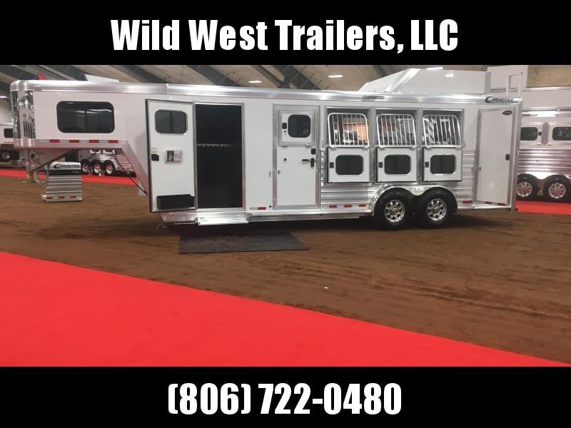 2018 Cimarron Trainer's Horse Trailer