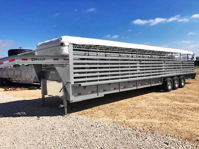 2019 Delco Trailers 36 ft Bar Top Livestock Trailer in Ashburn, VA