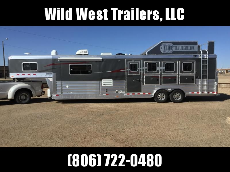 """2018 4-Star Trailers 4 Horse - 13'2"""" SW Horse Trailer"""