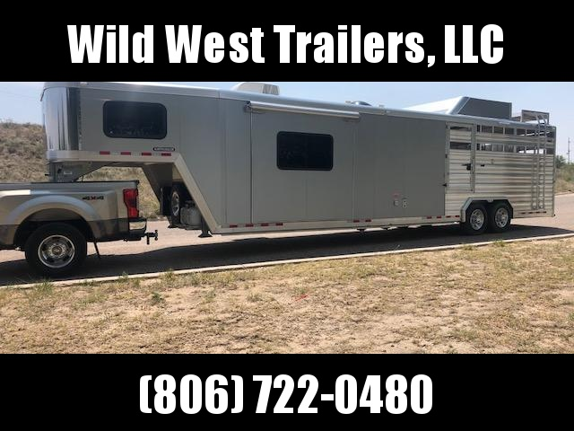 2017 Cimarron Trailers Stock Combo with LQ Trailer