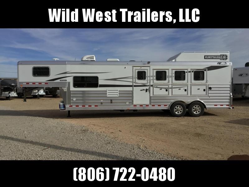 2018 4-Star Trailers 4H-10SW LQ Horse Trailer
