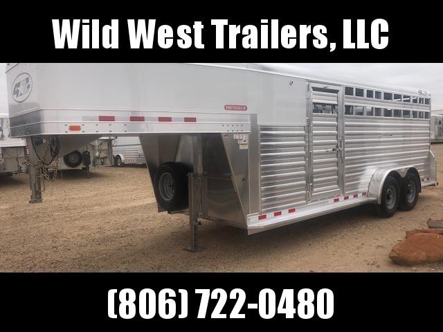 2019 4-Star Trailers 20ft Livestock Trailer