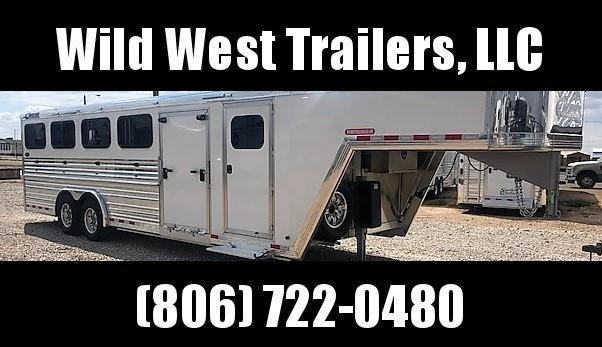 2019 Cimarron Trailers Showstar LP 25 Livestock Trailer