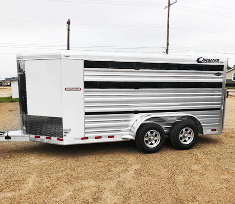 2019 Cimarron 6 Pen Livestock Trailer in Ashburn, VA