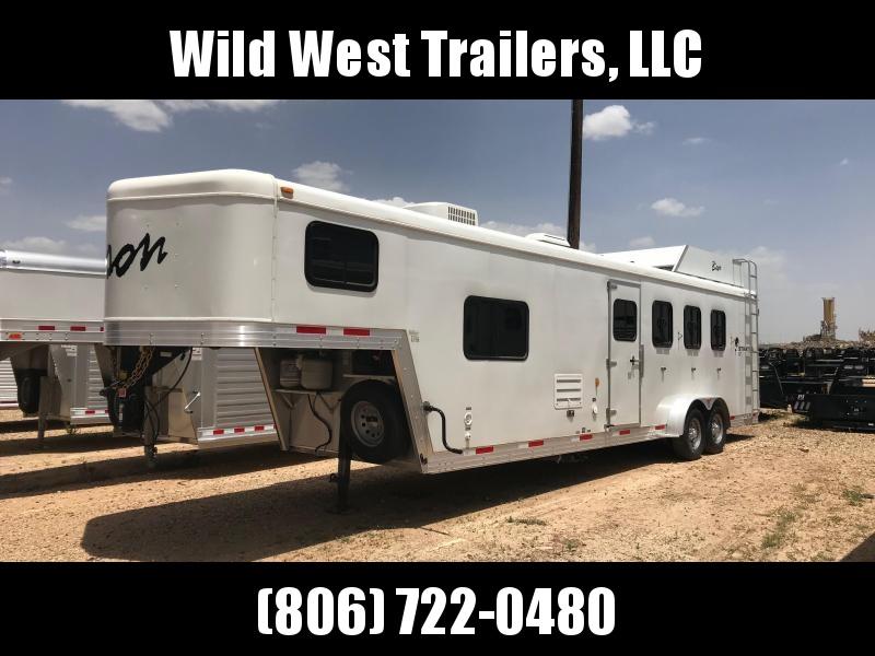 2013 Bison Trailers 4 Horse Trailer