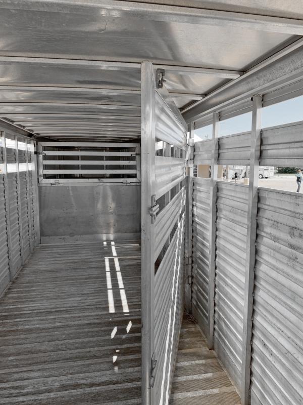 2012 CM Stock Combo Livestock Trailer