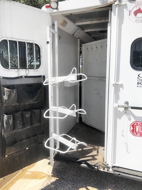 2003 Trails West Manufacturing 3 Horse Trailer
