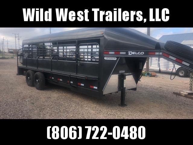 2019 Delco Trailers Premium Livestock Trailer