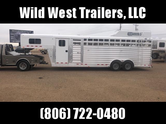 2018 4-Star Trailers 24ft  Dual Tack Livestock Trailer
