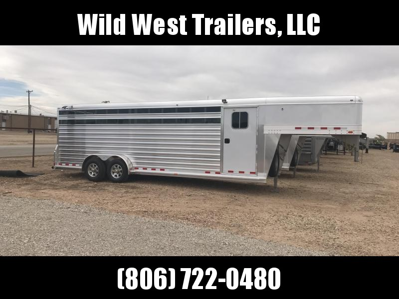 2018 4-Star Trailers 24ft Livestock Trailer