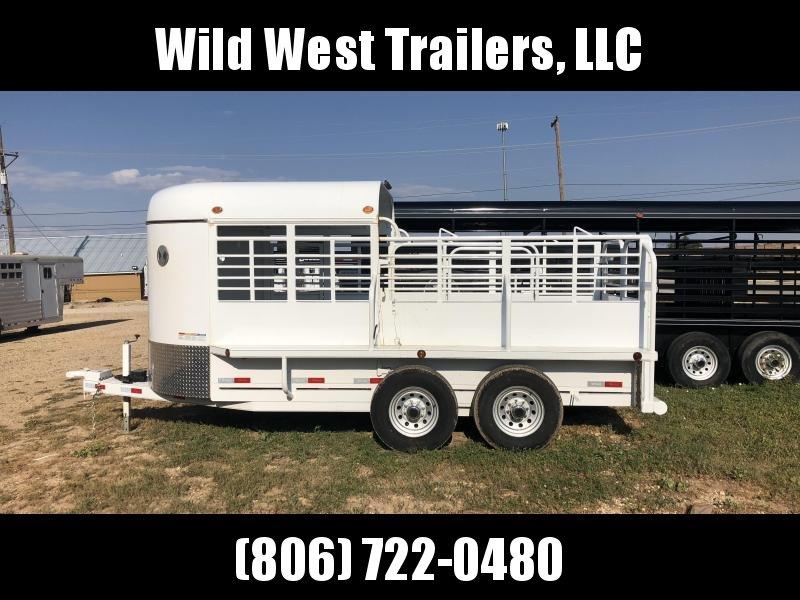 2018 Delco Bumper Livestock Trailer