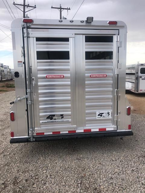 2019 4-Star Trailers 24ft Stock Combo Livestock Trailer