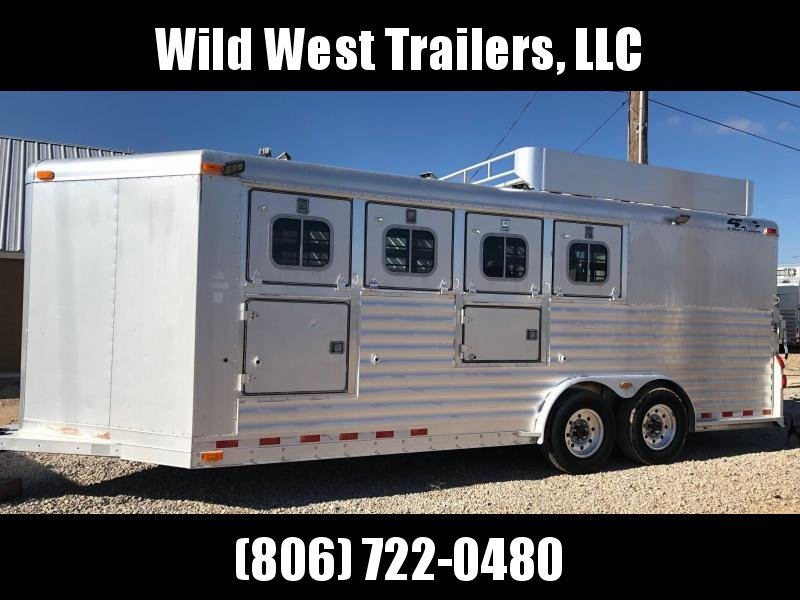 2002 4-Star Trailers 5 Horse Trailer