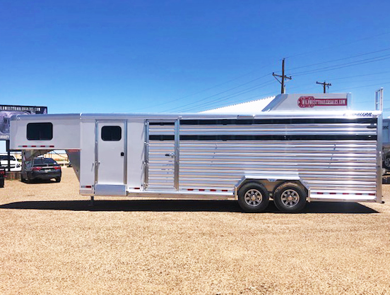 2019 Cimarron Livestock Trailer in Ashburn, VA