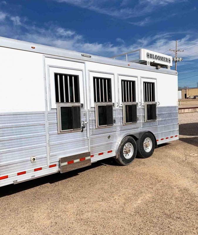 2008 Bloomer 4 Horse Trailer