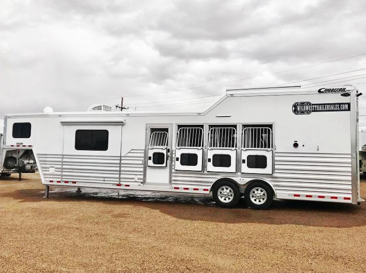 "2018 Cimarron Trailers 4 Horse - 12'9"" SW Trailer in Ashburn, VA"