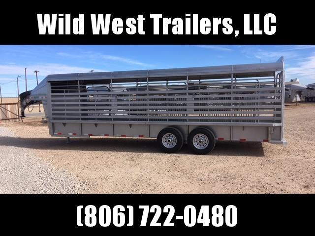 2018 Delco Trailers 20ft Livestock Trailer
