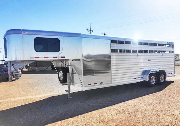 2019 Cimarron Trailers Stock Combo Livestock Trailer