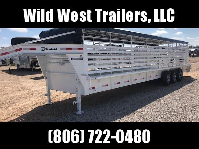 2019 Delco Trailers 32 ft Livestock Trailer